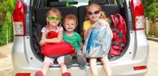 Consigli per un viaggio in macchina con i vostri bimbi