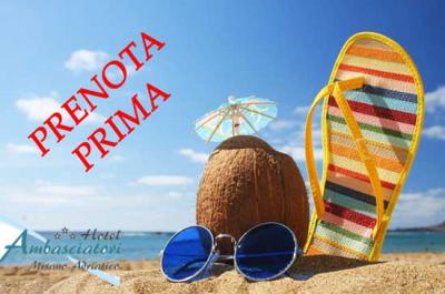 Offerte Prenota prima in Romagna 2018 - Ambasciatori Misano